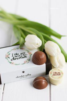 Die Dreierlei Liebelei Pralinen-Kollektion 2015 von chocolate valley