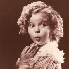 Shirley Temple - most famous child actress of the 1930's