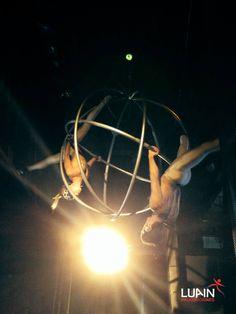 Esfera Aérea en Ovo Nigths Club - hotel Conrad Punta del Este 2014