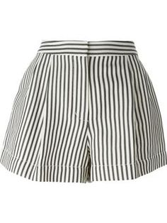 striped shorts £301 #farfetch #want #31-Phillip-Lim
