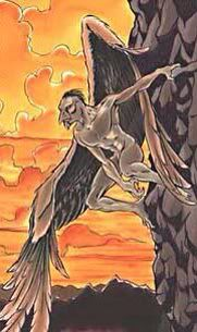 Ekek- Philippine folklore: bird-like humans. They were winged and flew at night searching for humans to eat their flesh and blood. Mythological Creatures, Fantasy Creatures, Mythical Creatures, Philippine Mythology, Philippines Culture, Scary Monsters, Fantasy Setting, Cryptozoology, Creature Feature