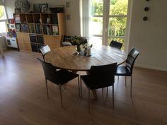 Client in Denmark - Round Veizla table, 160cm diameter.