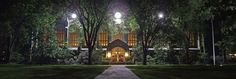 Law Library Night (Panorama) by dgermony, via Flickr
