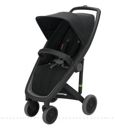 Greentom Upp Classic - black chassis, black fabric