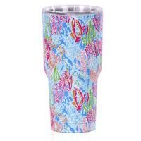 Coral 30 oz Stainless Steel Insulated Tumbler