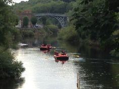 Ironbridge canoe, kayak and raft hire on the Severn river Boat Hire, Industrial Revolution, Rafting, Canoe, Kayaking, Tours, River, Kayaks, Rivers