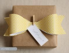 Make your own paper bow