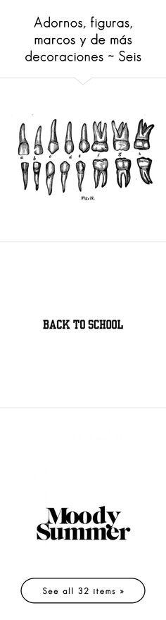 """Adornos, figuras, marcos y de más decoraciones ~ Seis"" by psychoticbitch on Polyvore featuring fillers, backgrounds, decor, text, words, quotes, school, saying, phrase y writings"