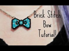 DIY Beaded Bow Necklace How To ¦ The Corner of Craft - YouTube