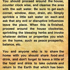 Cleansing home