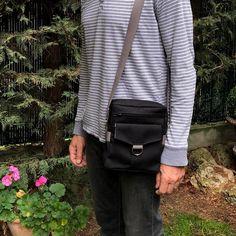 Sacoche Jive en toile luggage cousue par La bricole de Dom - Patron Sacoche Sacôtin