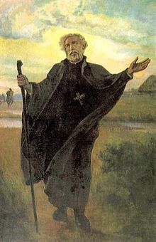 Saint Andrew Bobola, S.J. (Polish: Andrzej Bobola, 1591 – 1657) Bobola was born in 1591 into a noble family in the Sandomir Palatinate in the Province of Lesser Poland of the Crown of the Kingdom of Poland. In 1611 he entered the Society of Jesus in Vilnius and he subsequently ...(See the rest of his story here:) https://www.facebook.com/St.Eugene.OMI/