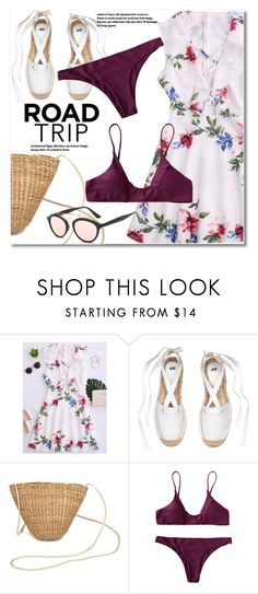 """""""Rev It Up: Road Trip Style"""" by svijetlana ❤ liked on Polyvore featuring roadtrip and zaful"""
