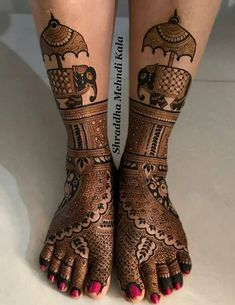 From Mehndi Design has a very special place in our hearts because of its simplicity and unique nature. Post Mehndi Design For Leg Bridal can be achieved
