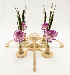 Style 09  Modular Sculpture Candle Holder by KkornerInnovations, $34.00