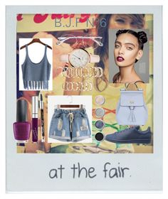 """""""B.J.F N°6"""" by marlinda212 on Polyvore featuring mode, Polaroid, OPI, GUESS, Maybelline, KRISVANASSCHE, FOSSIL, Forever 21, adidas et Dolce&Gabbana"""
