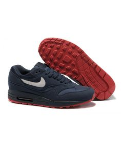 Order Nike Air Max 1 Mens Shoes Blue Official Store UK 1916 Blue Air Max be1b6fa1d
