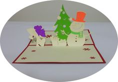 Merry Christmas 6  - 3D Pop Up Cards - Greeting Cards - Ovid Gifts