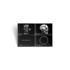 Image of Life/Death enamel pin