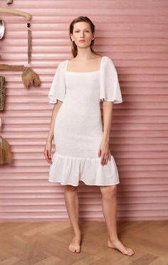Marysia | Crete Dress in Coconut | Swim and Resort Wear