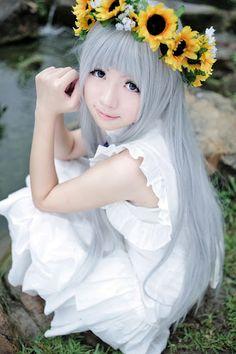 anohana cosplay - Google Search