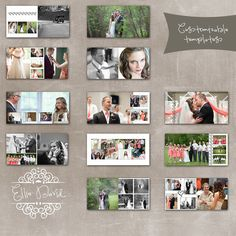10x10 Wedding Al Photo Template Designed For Whcc