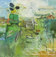 Leslie Allen, Metro Parklets II, 2015, Seager Gray Gallery