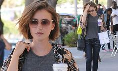 Lily Collins resumes stylish appearance during shopping spree in LA