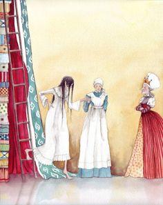 The Princess and the Pea by Karen Watson