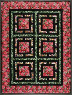 Oriental garden quilt - Project - The Spotlight Inspiration Room | Australia...tutorial
