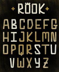 Rook Font - James Graves | http://www.pixelpixelpixel.com