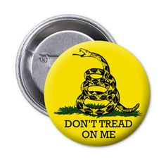 LA Police Gear Don't Tread on Me Flair Button- $1.99