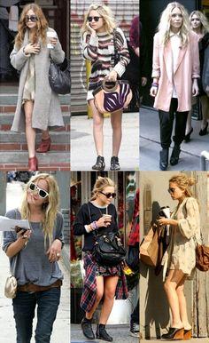 """El peculiar estilo de """"vagabundo"""" de Mary Kate Olsen que ha creado tanta tendencia."""