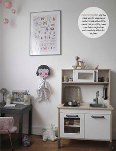 We love our play kitchen... just like this one. IKEA