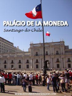 Construído inicialmente em 1784 para abrigar a Casa da Moeda, o Palácio de la Moneda se tornou anos depois em 1846, a Sede da Presidência da República do Chile.