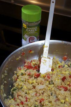 Fresh Veggie Quinoa Skillet