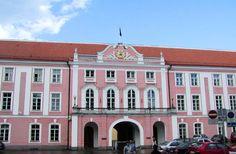 Estonian Parliament building in Tallin