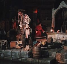 Johnny Depp on the Pirates of the Caribbean Ride 4/26/17