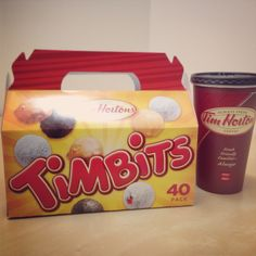 TimBits by Tim Hortons. Fav place to eat in Canada! Tim Hortons Coffee, I Am Canadian, French Lifestyle, Canada Eh, Best Boyfriend, Places To Eat, Homeland, My Love, Ontario