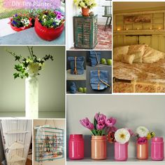 Pinterest Recycled Crafts | Here is a round up of some awesome Recycled Projects!