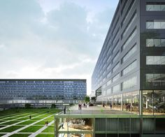Extension of the WHO Headquarter Geneva, AZC – BETA