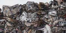 Deteriorating architecture and lacy shades of ruin embody Seth Clark's work. Amidst the clutter of rubble, collage and paint, the imag...