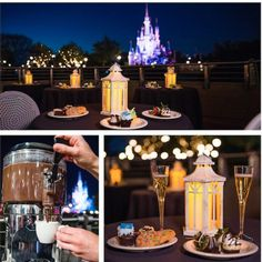 Beginning July 5, 2015, YOU can enjoy the newly enhanced Wishes Fireworks Dessert Party in Magic Kingdom® Park at Walt Disney World® Resort. With an unforgettable view of Wishes fireworks over Cinderella Castle, this exclusive experience allows relaxation in a reserved seating area at Tomorrowland Terrace as they indulge in decadent desserts and beverages. Delightful menu items include chocolate-dipped strawberries, chocolate mousse, ice cream, season fruit and cheese, Disney…