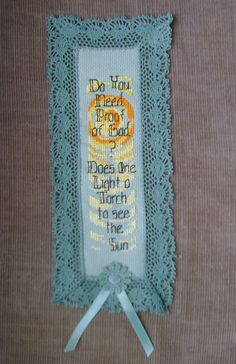 Do you need Proof of God Christian/Inspirational by ifrogcrafts