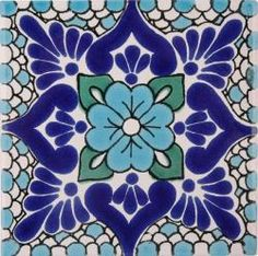 I think its neat that russian folk art tiles and mexican folk art tiles look a lot alike. Would love to incorporate this Tile Art, Mosaic Tiles, Tile Patterns, Textures Patterns, Terra Nova, Painted Rocks, Hand Painted, Mexican Folk Art, Mexican Tiles