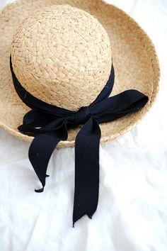 Talbots Prairie Straw Hat