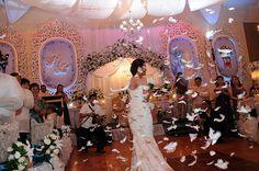 wedding: feathers