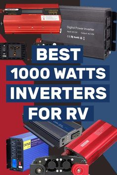 Are you in the market for 1000 watts inverters. We've rounded up 13 of the best products to give you a heads up. Van Conversion Solar, Camper Van Conversion Diy, Alternative Power Sources, Rv Solar Panels, Rv Trailers, Camping Trailers, Travel Trailers, Cordless Power Tools, Electric Boat