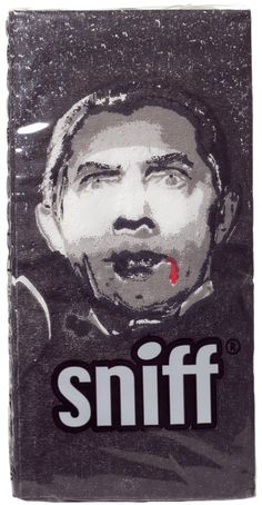 DRACULA TISSUES Got the sniffles while on the go?! Dracula here has you covered! This 10 pack of 4 ply tissues features Dracula printed on each. $4.00 #tissues #housewares #dracula #classicmonsters #hollywoodmonsters