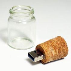 USB Key Message in a Bottle